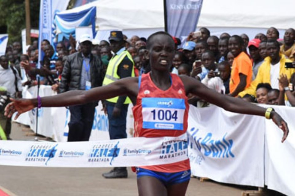 Family Group Eldoret Half Marathon