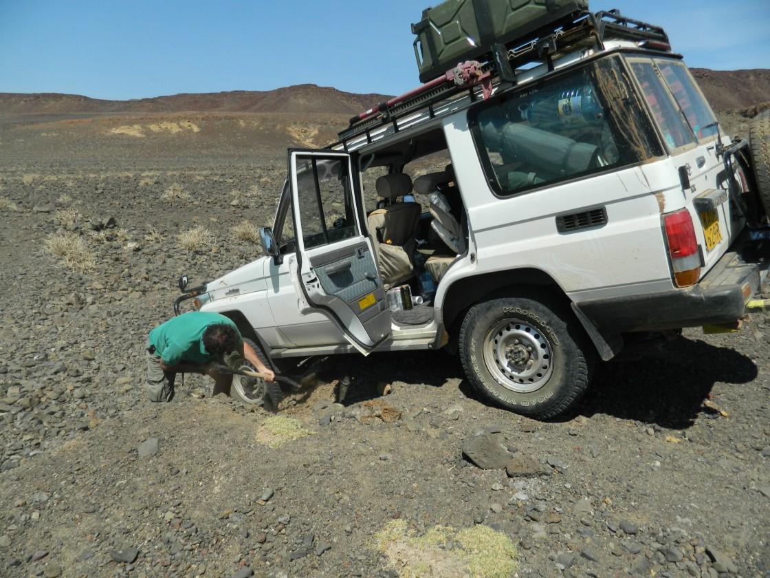Turkana lake gari stuck web